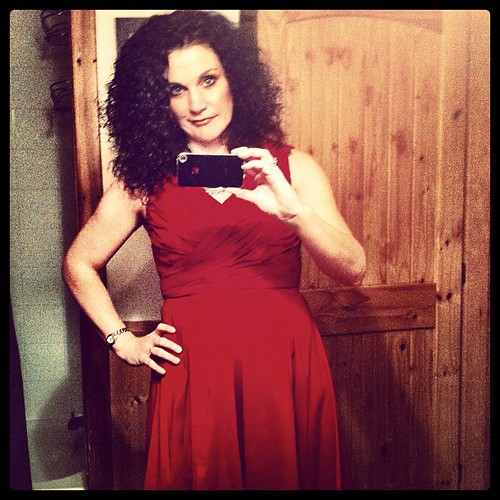 I'm wearing my red dress tonight. Because, well, why not? #birthdaypalooza