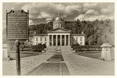 Montpelier VT. - Vermont State House Capitol 08