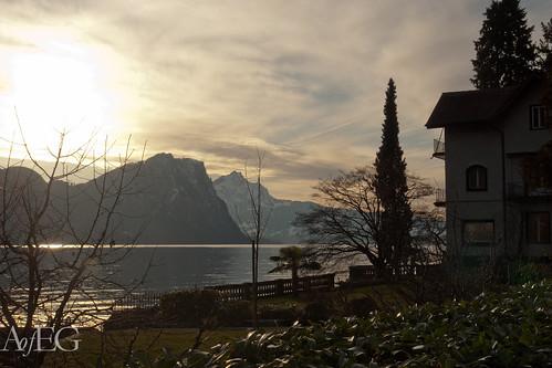 Lake Lucerne, Uri Switzerland by The Art of English Gardens