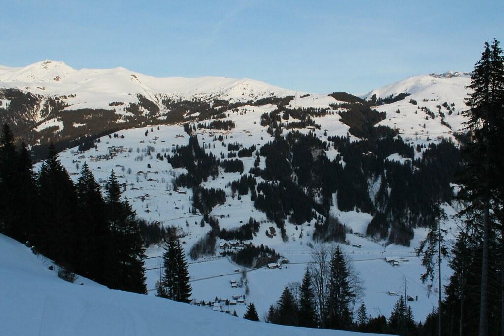 Rundweg Leiterli - Loipe , Lenk im Simmental - 46