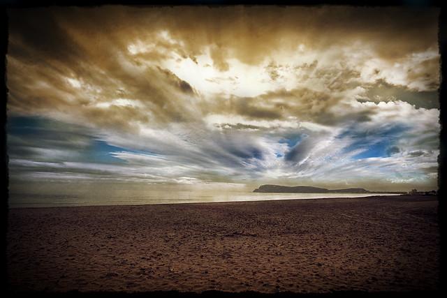 Spiaggia solitaria...