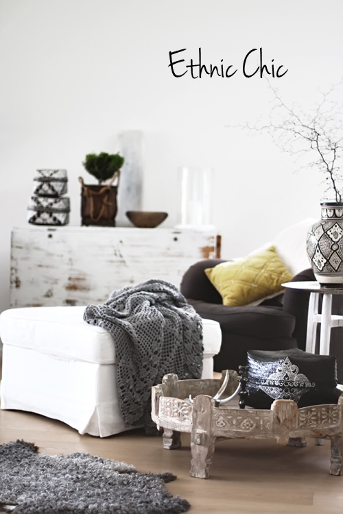 Ethnic chic the style files - Deco style boheme chic ...