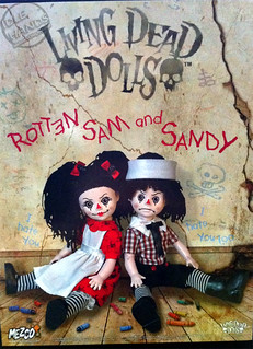 Living Dead Dolls-sam-&-sandy