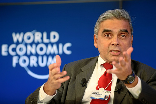 Kishore Mahbubani during the session 'The Future of American Power in the 21st Century' at the Annual Meeting 2012