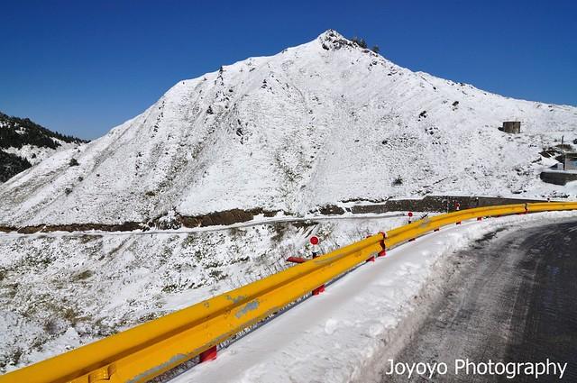 合歡山雪季 合歡尖山