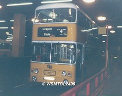 172  AVK 172V  Leyland Atlantean  Alexander AL. Eldon Square Bus Station NEWCASTLE UPON TYNE