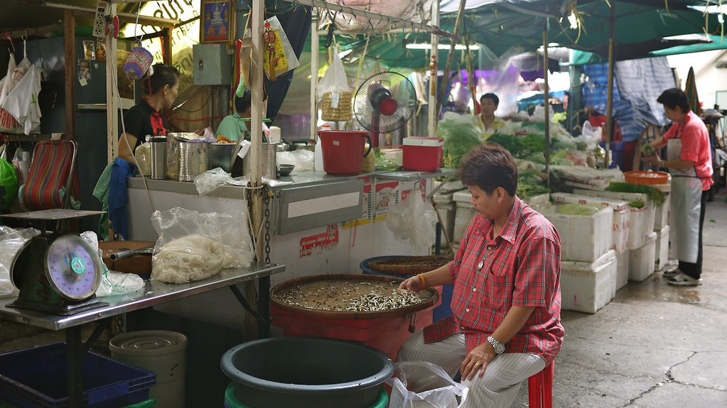 Noi Market Stalls