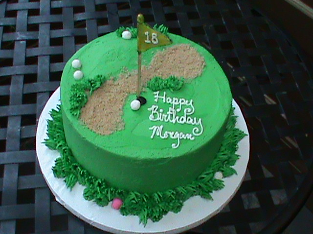 Golf Themed Cake Images : 18th birthday Golf theme cake1 Flickr - Photo Sharing!