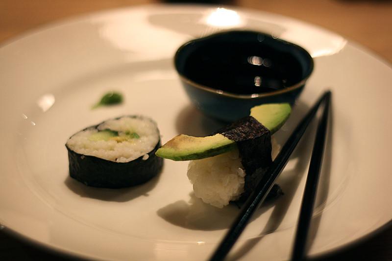 gjorde sushi själva hos caisa också