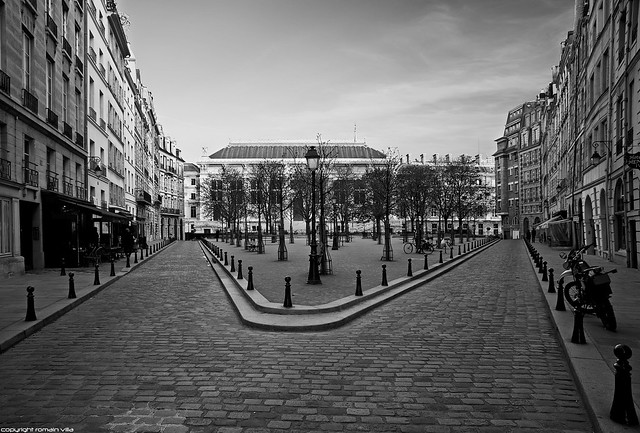 Place Dauphine - Ile de la Cité - Paris