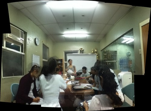 week 5, 2012: Agape Bible Study Workshop, MSC Office, MSU 2/F, UP Manila