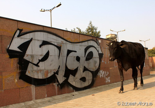 Graffiti  at Ansal Plaza 3