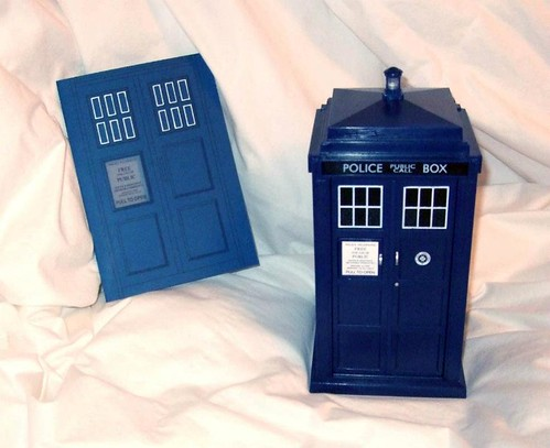 what we didn 39t unveil until now are her Tardis wedding invitations