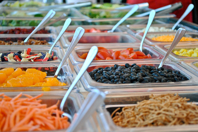 Design Your Own Salad Bar