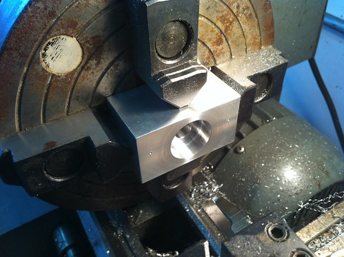 9x20 lathe four-jaw chuck