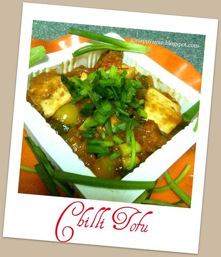 Chilli Tofu 1