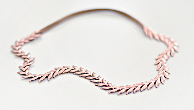 Necklace Headband DIY -