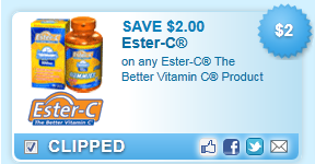Ester-C The Better Vitamin C Product Coupon