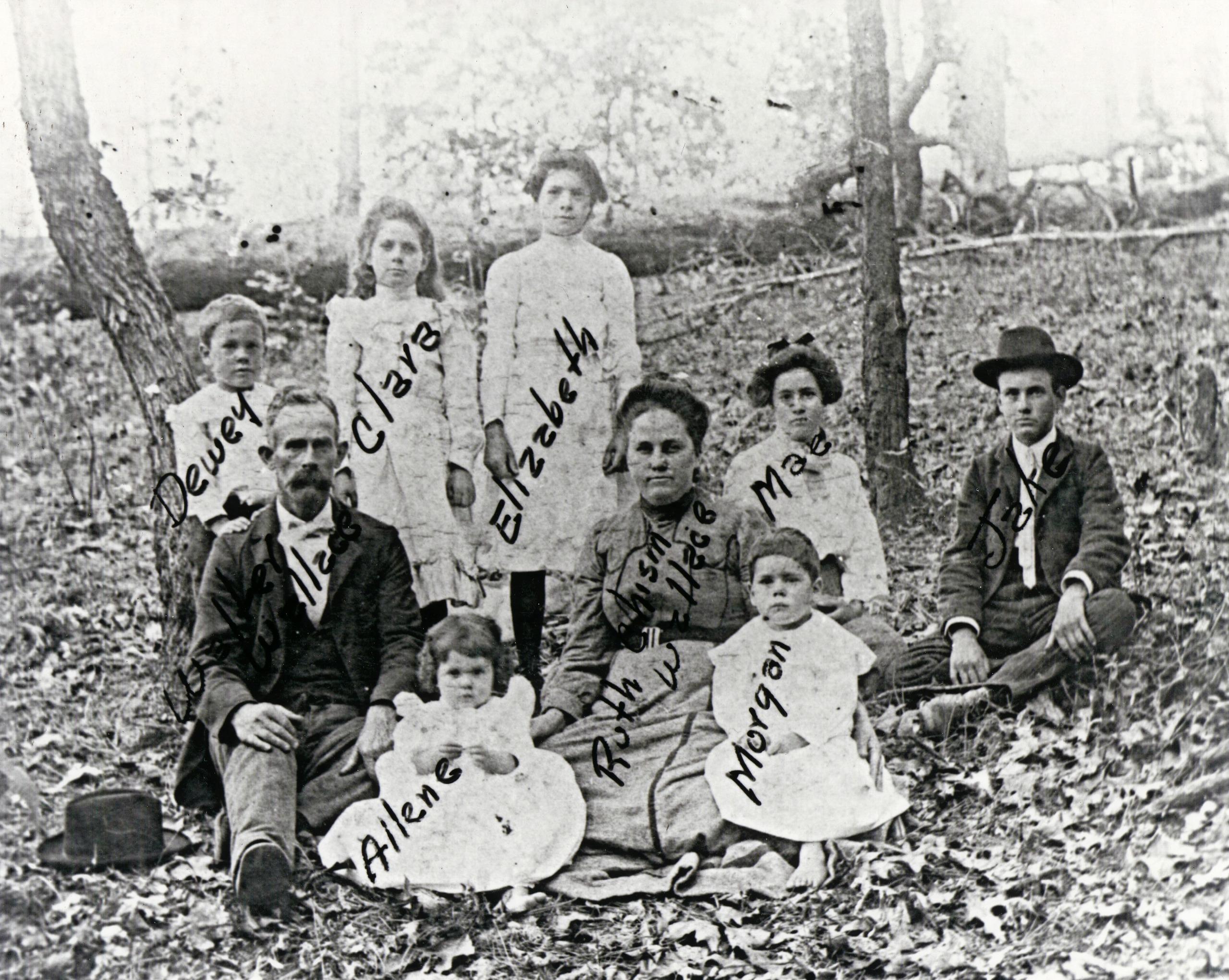 John Walter Wallace Family