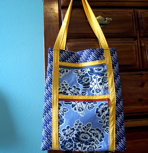 FO: Starry Art Student Tote