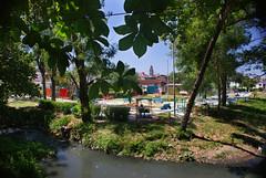 Rio Cubanicay desde el monumento del tren blindado, Santa Clara, Cuba 2011