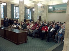 Assembly Judiciary crowd, ME, 1/2/12