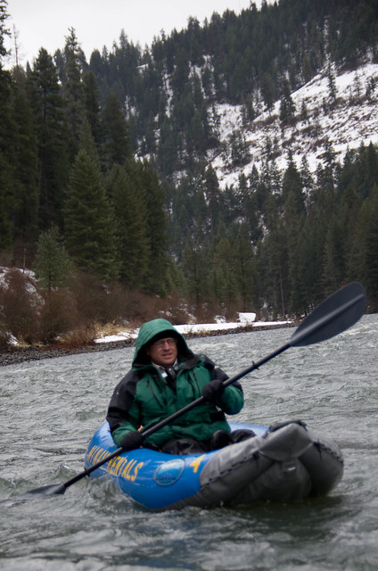 Kayaking the Wallowa River
