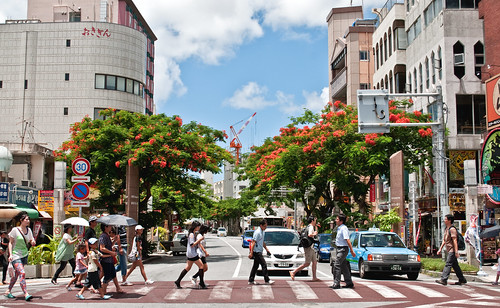 Kokusai Dori crossing