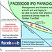 FACEBOOB IPO PARADIGM