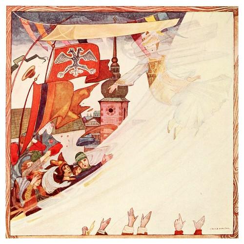 015-La novia raptada por el torbellino-Polish fairy tales 1920-Cecile Walton