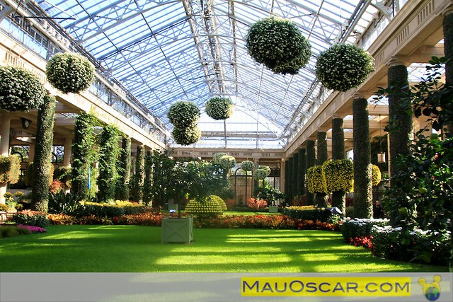 Estufa do longwood Gardens