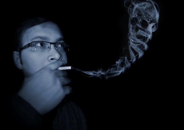 smoke..