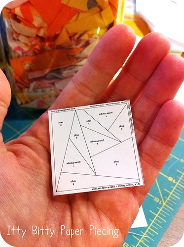 Itty Bitty Paper Piecing
