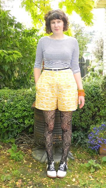 Vintage McCalls 5458 shorts