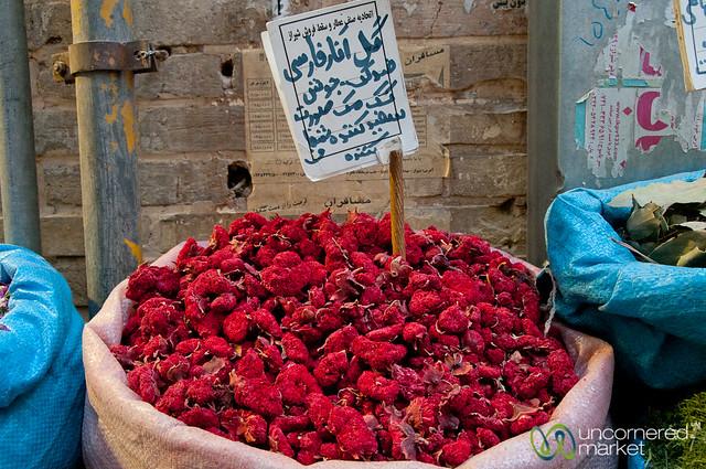 Herbal Teas at Shiraz Market - Iran