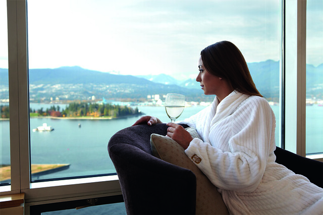 Escape to the Pan Pacific Vancouver