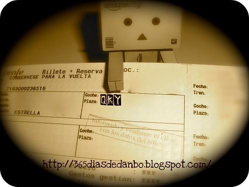 Día 47/365: billetes comprados para el próximo viaje