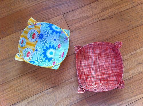 Folded Flower Bowls