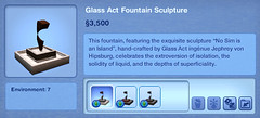 Glass Act Fountain Sculpture