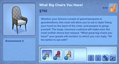 What Big Chairs You Have