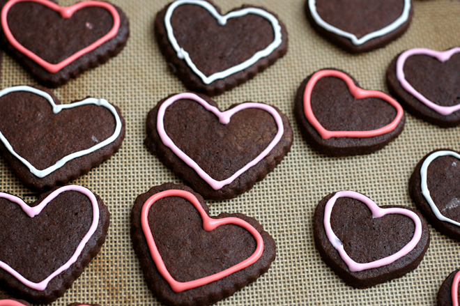 chocolate sugar cookies 3