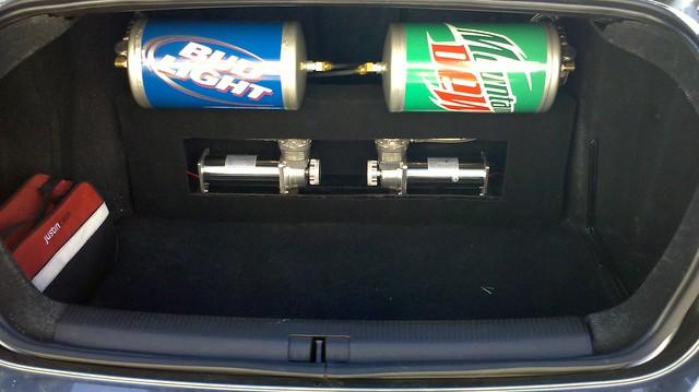 Trunk setup