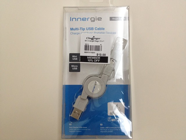 Innergie Magic Cable - Multi-Tip USB Cable - Box Front