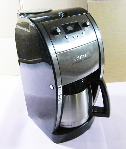 Cuisinart Automatic Grind And Brew Coffee Maker Problems : Cuisinart Grind and Brew Thermal 10 cup Automatic Coffee Maker DCC-590 eBay