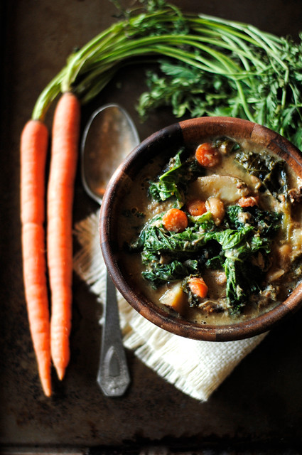 Chicken, Sausage, and Kale Stew
