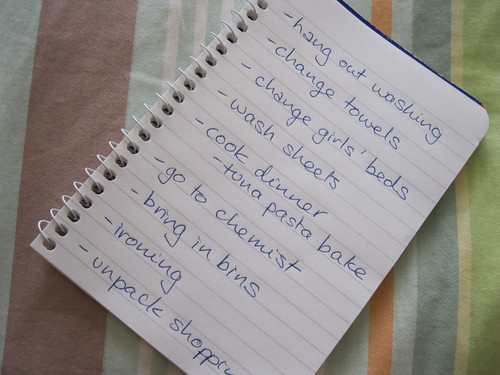 photo a day challenge - your handwriting/words
