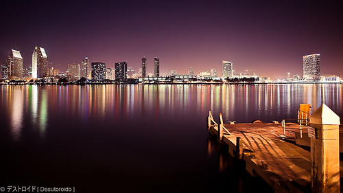 california travel vacation night canon golden san long exposure cityscape diego filter hour nd 5d coronado waterscape cokin zpro