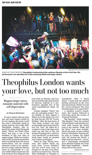 Theophilus London Wash Post tearsheet