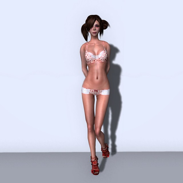 Freebie Heart Lingerie