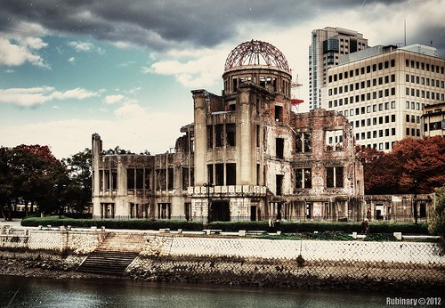 japan vintage nikon war destruction hiroshima hdr atomicbombdome d700 nikond700